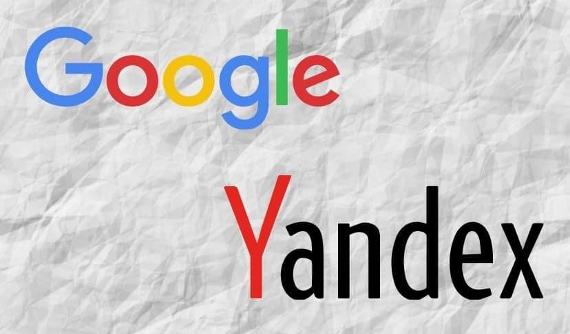 Google alboYandex